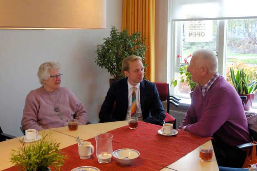burgemeester bezoekt Inloophuis Culemborg