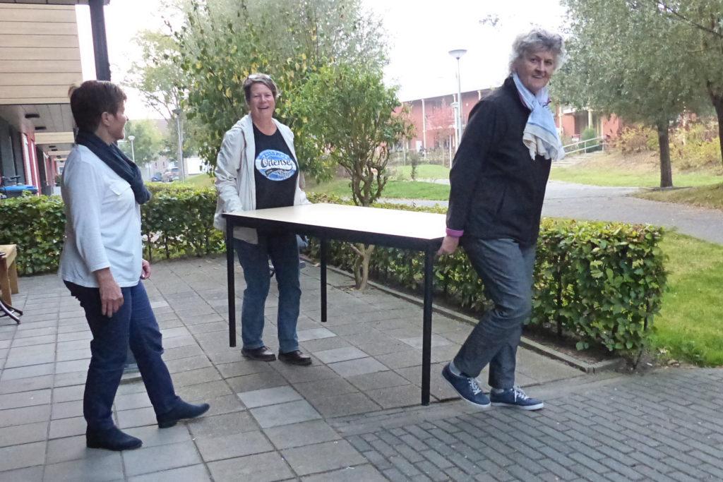 Inloophuis Culemborg_Nieuwe tafels