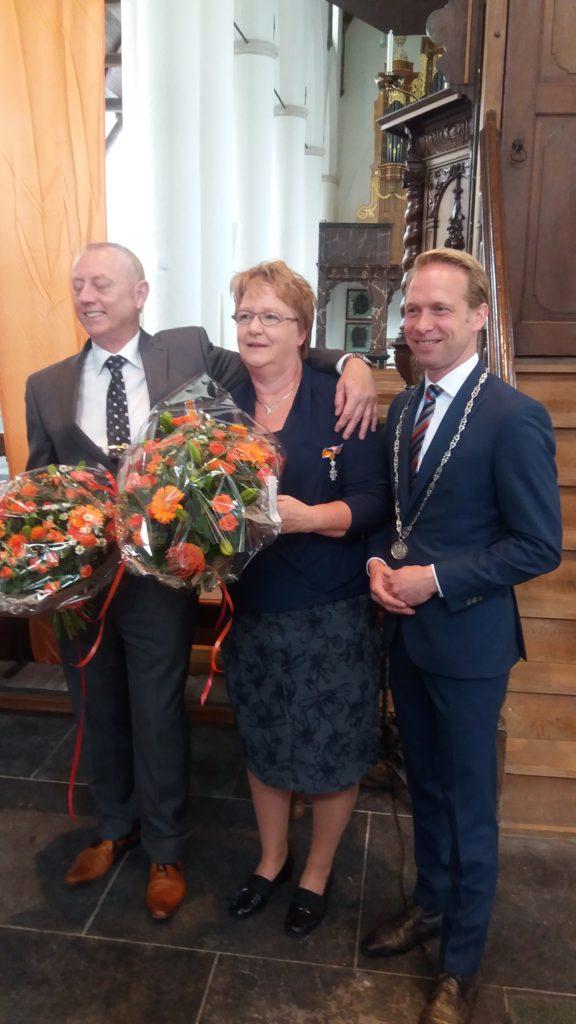 Lintjes Leny en Henk Stokking